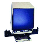 Eyecom 1200 Dual Lens Microfiche Reader with Image Rotation